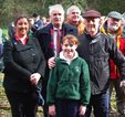 Members of the local community who planted a yew tree at Site 6, Cahir Park